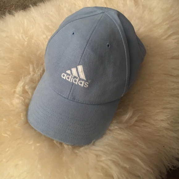 b6e010de01b adidas Accessories - Pastel Blue and white Adidas Dad Hat Baseball Cap
